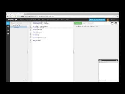 ▶ LaTeX Tutorial pt 1 - Creating Your First Document - YouTube