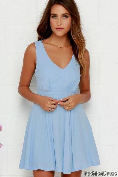 light blue sundress 2017-2018 » DreamyDress