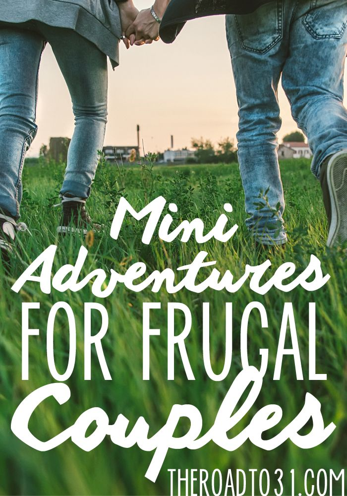 Need some unique date night ideas? Mini Adventures for Frugal Couples has everything from scavenger hunts (free printables) to mystery date surprises.