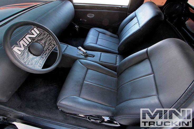 Bagged 1998 Toyota Tacoma Custom Interior minimal interior