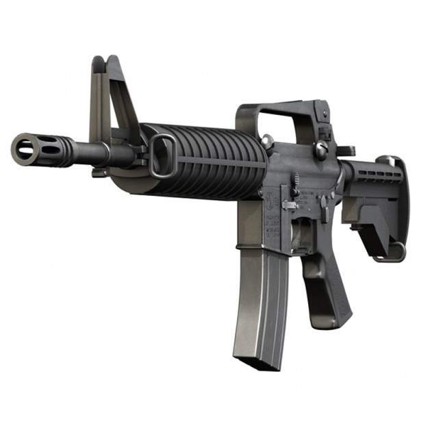 Colt M4 Assault rifle but i want a RCO,not iron sights.