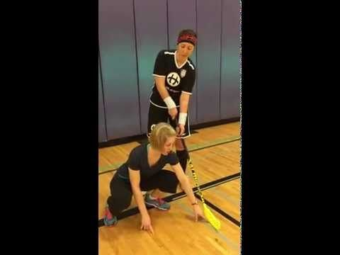 How to Play Floorball - Passing