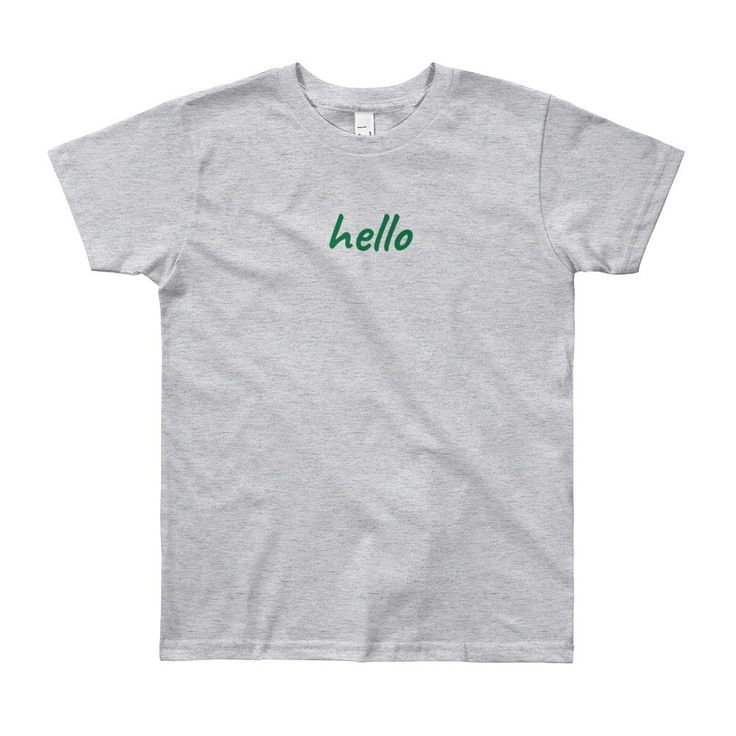 Youth T-Shirt Hello/Goodbye