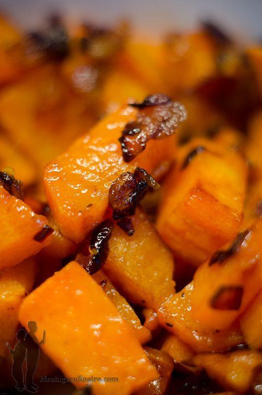 Piratage Culinaire: Patates douces sautées à l'échalote