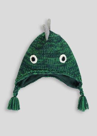 d7f552d0ccb Kids 3D Dinosaur Trapper Hat (12mths-4yrs)