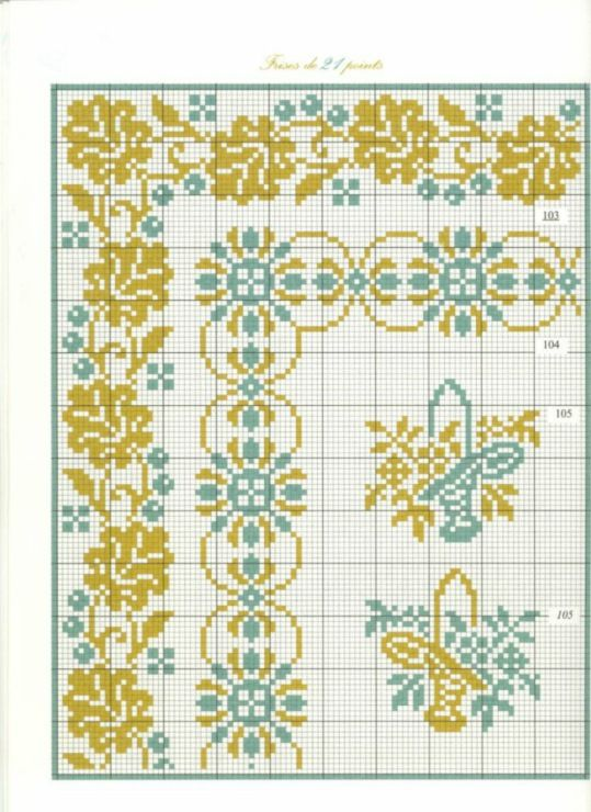 Teal & Gold Borders 32