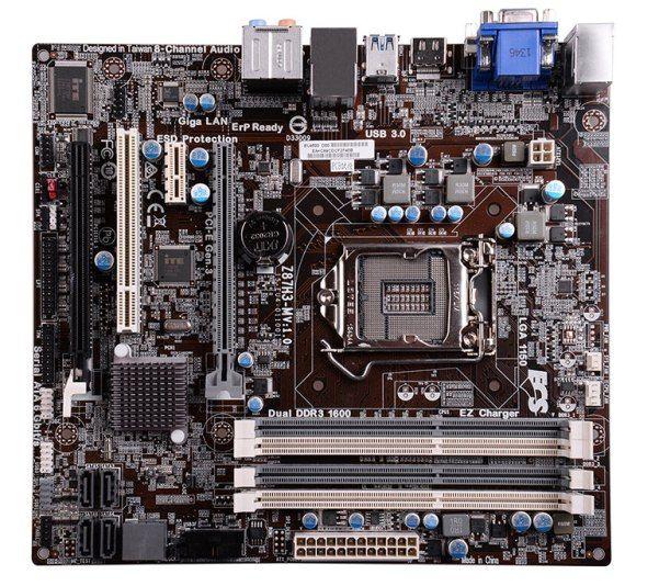 motherboard ecs Z87H3-M