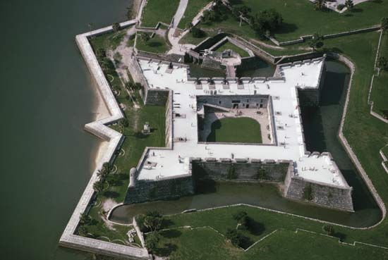 Castillo de San Marcos National Monument (monument, Florida, United States) -- Encyclopedia Britannica
