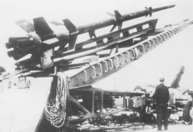 Rheinbote, was a German short range ballistic rocket developed by Rheinmetall-Borsig at Berlin-Marienfelde during World War II. It was intended to replace large-bore artillery by providing fire support at long ranges in an easily transportable form.