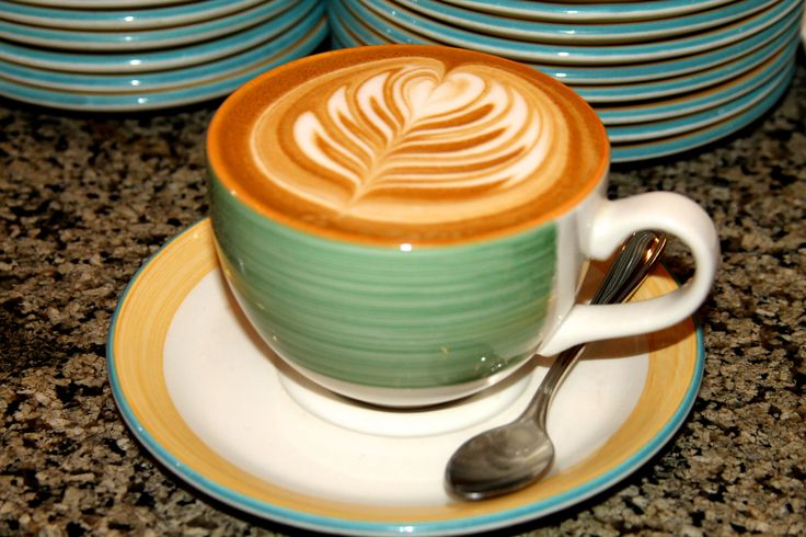 Beautiful latte art designed by our very own baristas at the Ala Moana store in Honolulu, Hawaii.