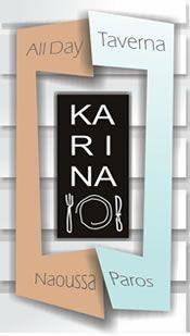 All day taverna Karina in Naoussa Paros