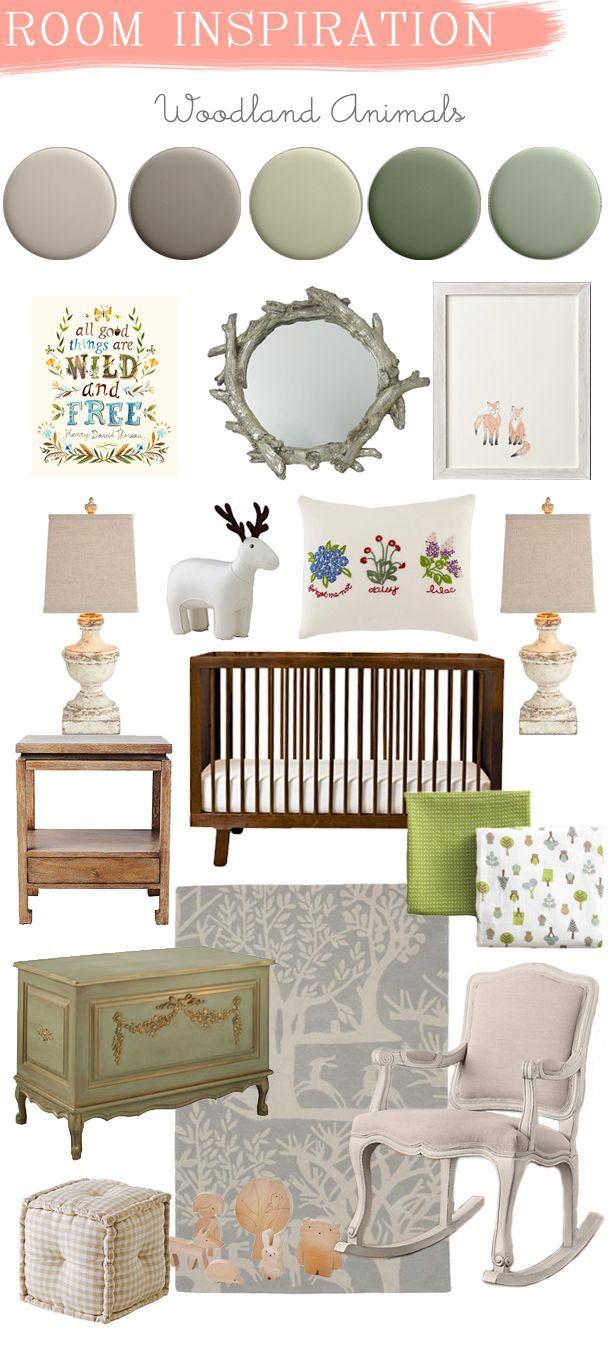 La Petite Peach_Room Inspiration_woodland animals