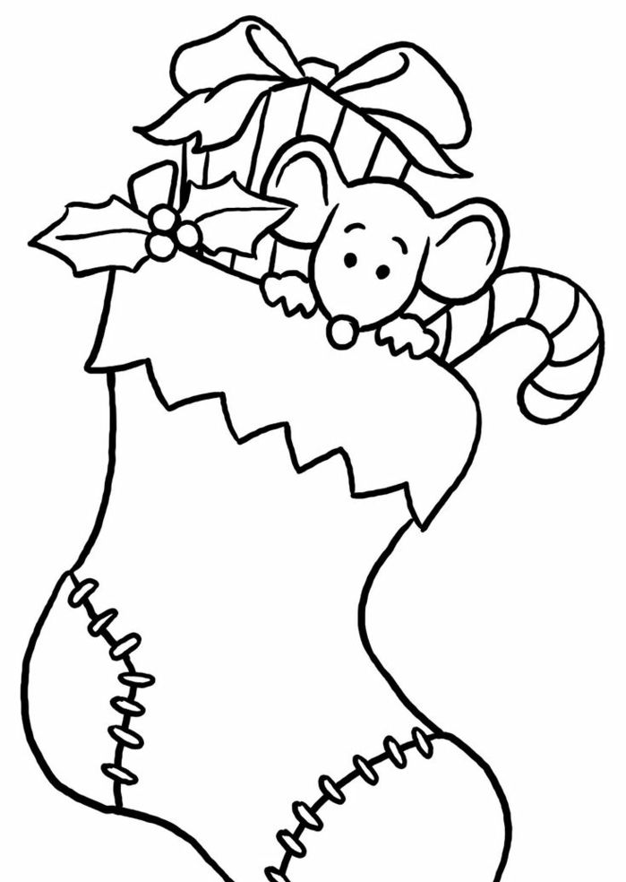 Ideas De Dibujos De Navidad.1001 Ideas De Dibujos Navidenos Para Colorear Nadal