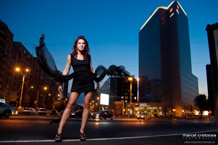 Sedinta foto glamour pe Calea Victoriei | Marcel Cristocea Photography