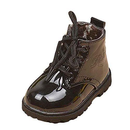 Oferta: 8.88€. Comprar Ofertas de Malloom Bebé invierno niños niñas niño ejército estilo Martin bota zapatos calientes para 1-6 años (21,1-2 años,Longitud: 13 barato. ¡Mira las ofertas!