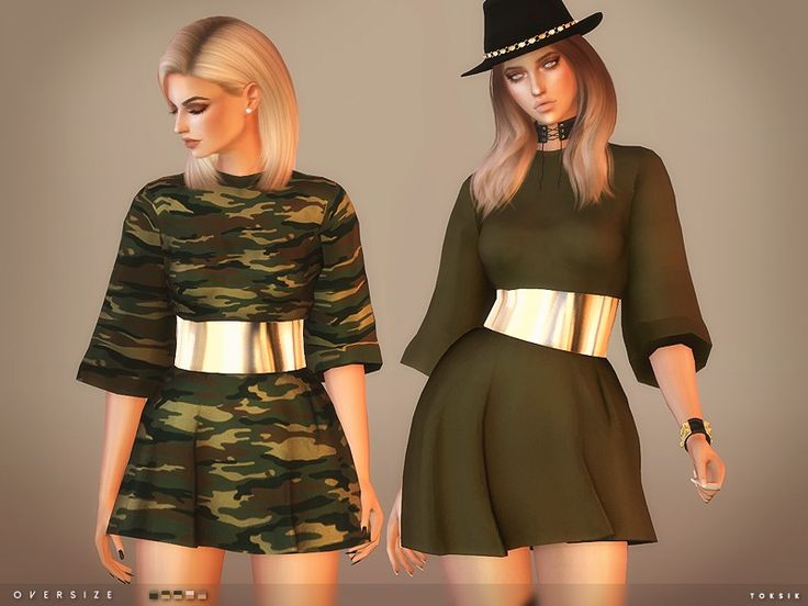 - 5 colours Found in TSR Category 'Sims 4 Female Everyday'