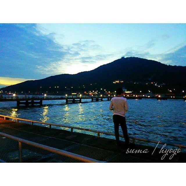 【k__yuchi.619】さんのInstagramをピンしています。 《- 須磨で釣りしたときの📷💓 - 全然釣れんかったけど夕方の景色が 綺麗やったからそれだけで満足😊🎶 - #過去pic#カップル#デート#旅行 #日帰り旅行#兵庫#須磨#ドライブ#釣り #海釣り#魚釣り#景色#海#空#夕焼け#夜景 #sunset#sky#trip#travel#drive #fishing#sea#couple#date》
