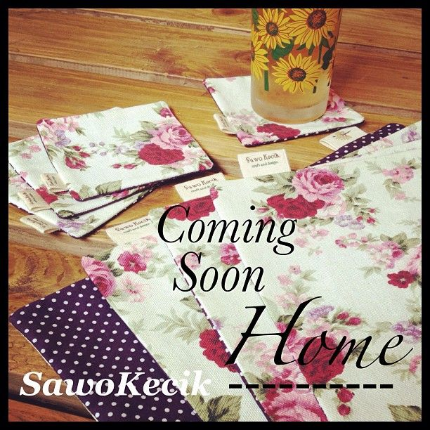 Coming Soon ... SawoKecik Home - Breakfast Set (of 4)