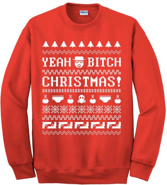 """Need this!!!...You'll Want To Own This """"Breaking Bad"""" Christmas Jumper"""