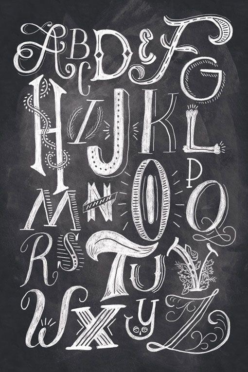 Beautiful hand-lettering and illustration by Orlando, Florida-based Shauna Lynn Panczyszyn
