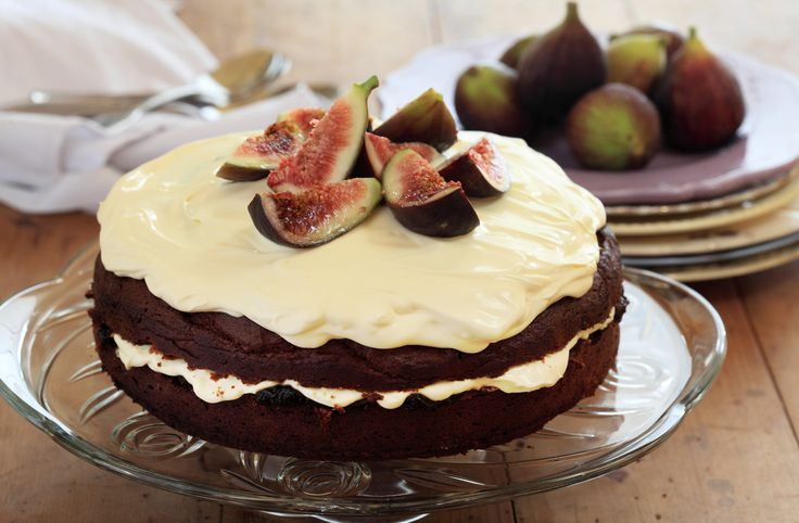 Burnt Fig Jam and Almond Cake - Maggie Beer