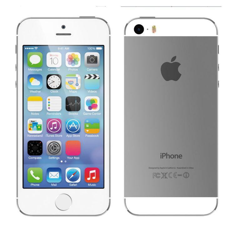 Apple iPhone 16gb - Silver UNLOCKED