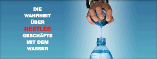 Nachdem auf einmal nicht viel mehr als eine braune, stinkende Brühe aus Ihren Wasserhähnen rinnt, wissen Sie, wonach der Konzern gräbt: Wasser!!!