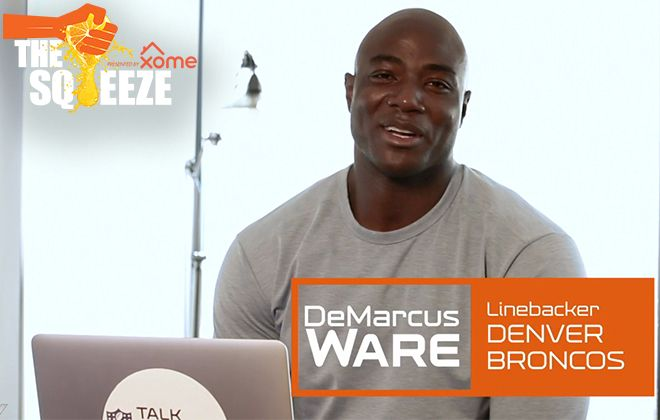 The Squeeze: DeMarcus Ware catches up with Dwight Freeney