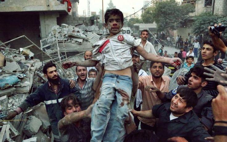 Rentetan Serangan Fatal Kembali Meledak di Aleppo