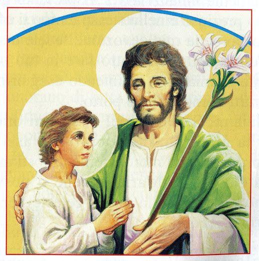 San Giuseppe, capo della Sacra Famiglia, prega per noi.