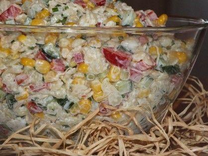 Makaronowa sałatka do grilla