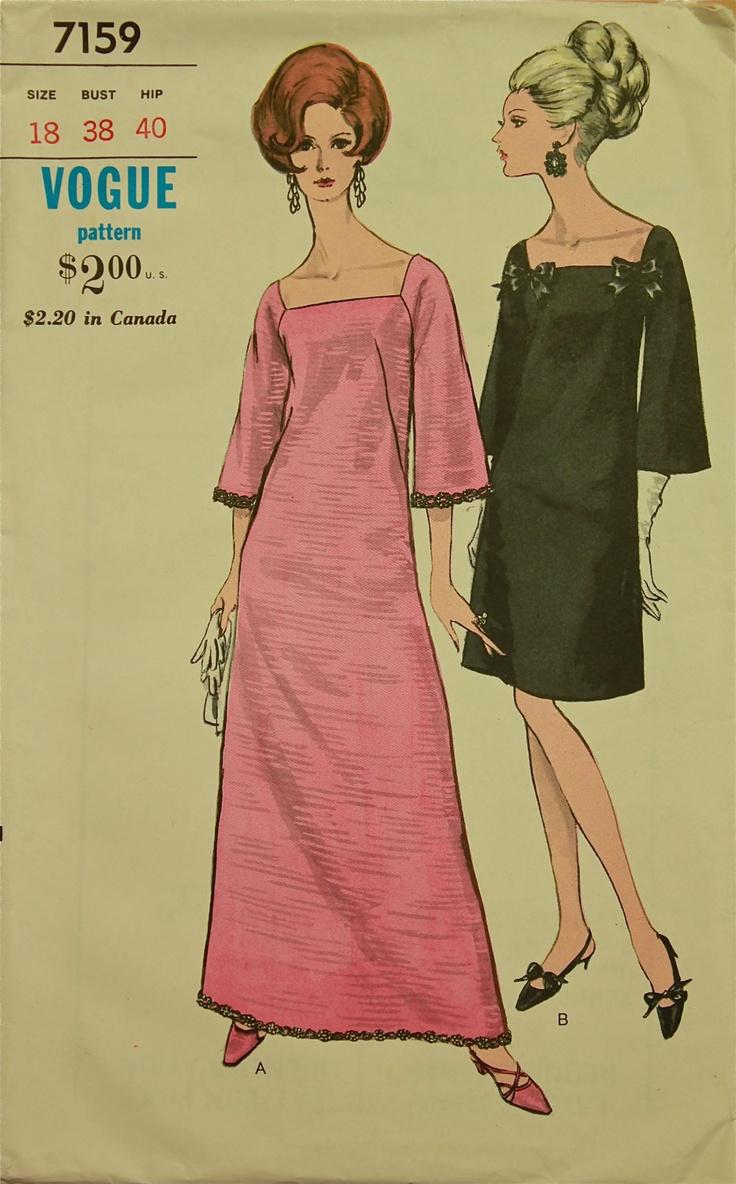 ilustracion de la revista vogue en 1960  tengo predilección por este tipo de dibujos porque me gusta mucho la moda