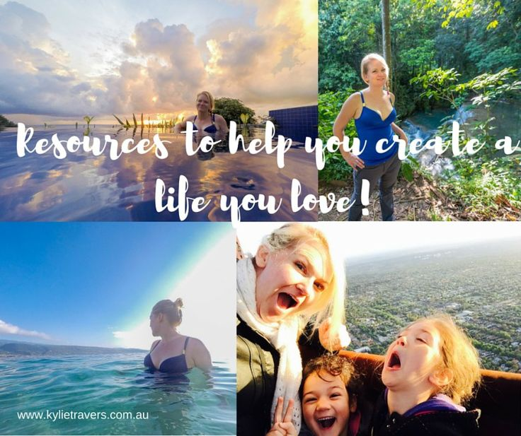 List of resources including goal setting, creating a vision board, making a personal mission statement etc. to help you create a life you love.