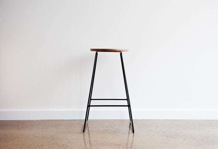 The HS650 stools was originally designed for a residential home with the objective to stand out as a fine piece of furniture yet blend in with its environment. An object of beauty with out distracting the eye from the whole picture. #stool #wooden #modern #australia
