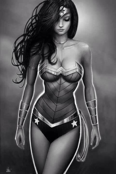 Wonder Woman by Nathan Szerdy #dccomics #diana #amazon