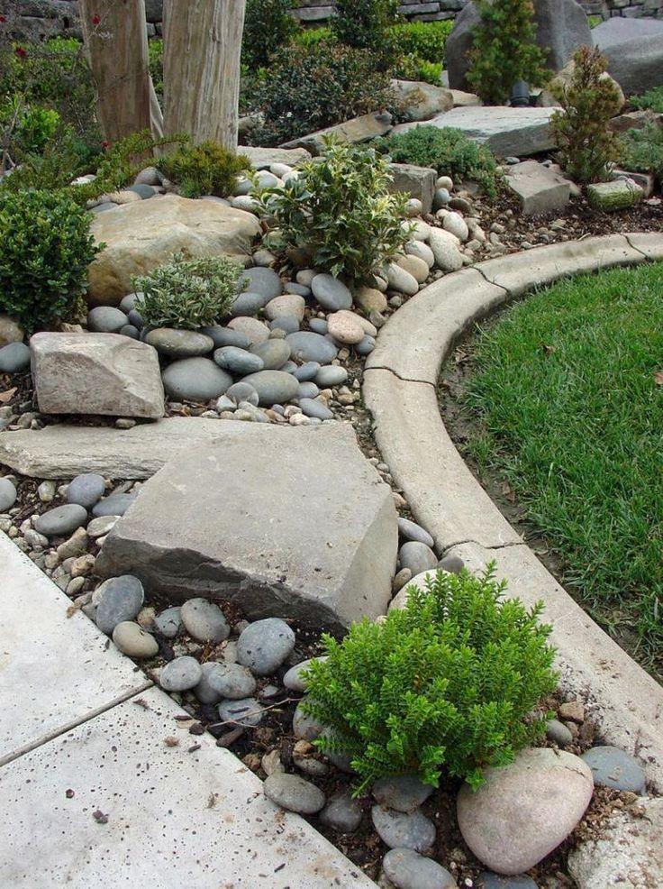 Beautiful Front Yard Rock Garden Landscaping Ideas 22 Steingarten Garten Landschaftsgestaltung