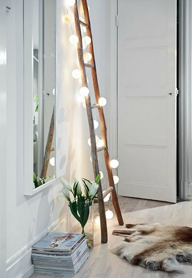 Step It Up! Ladder Lights Home Decor Trends Furniture Accessories Paint Colours Lighting Style Mood Design