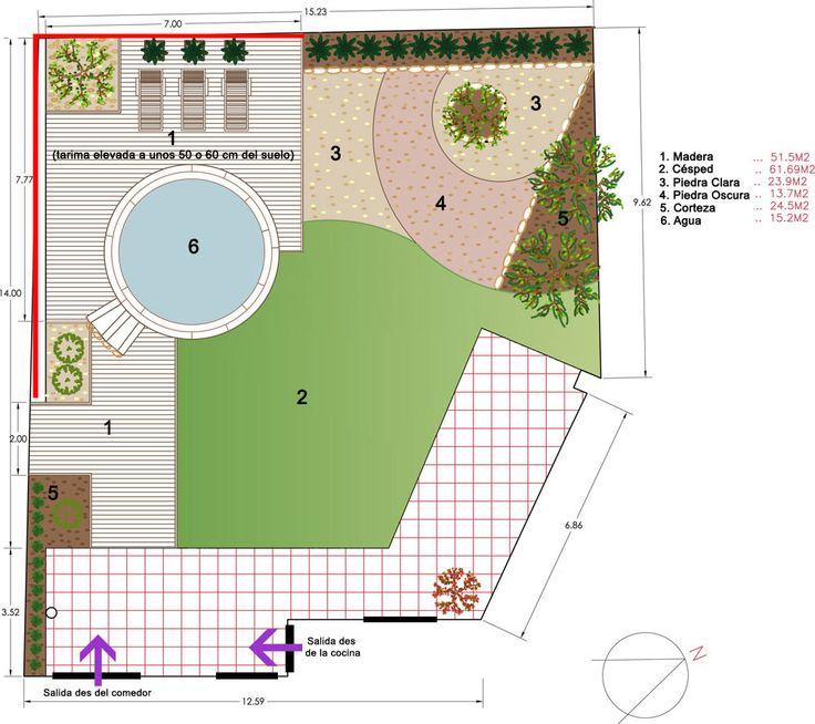 jardin minimalista autocad - Buscar con Google
