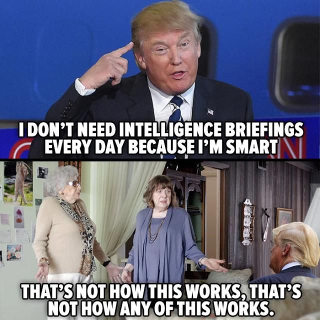 Funniest Trump Transition Memes: Trump and Intelligence Briefings