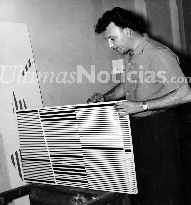 Alejandro Otero fue un pintor y escultor venezolano. Destacan sus obras escultóricas de gran formato, del género de arte cinético, muchas de las cuáles son exhibidas en Venezuela, Estados Unidos y Europa. Foto: Archivo Fotográfico/Grupo Últimas Noticias