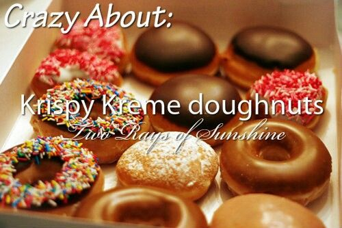 You see? Here the word doughnuts is spelt with the other way!