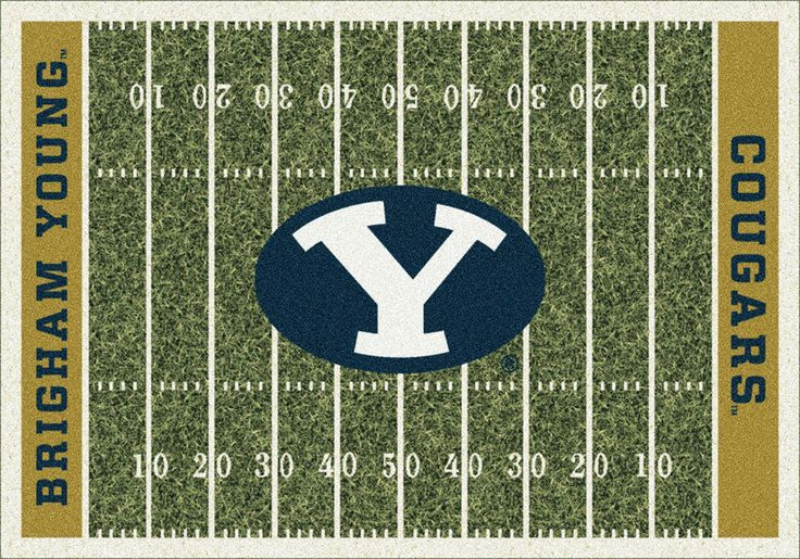 Brigham Young Rug University Football Field