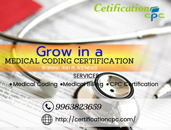 Join the best medical coding training in Hyderabad. Now is a very good time to look at a career in medical billing and coding.Medical coding CPC Training in Hyderabad.