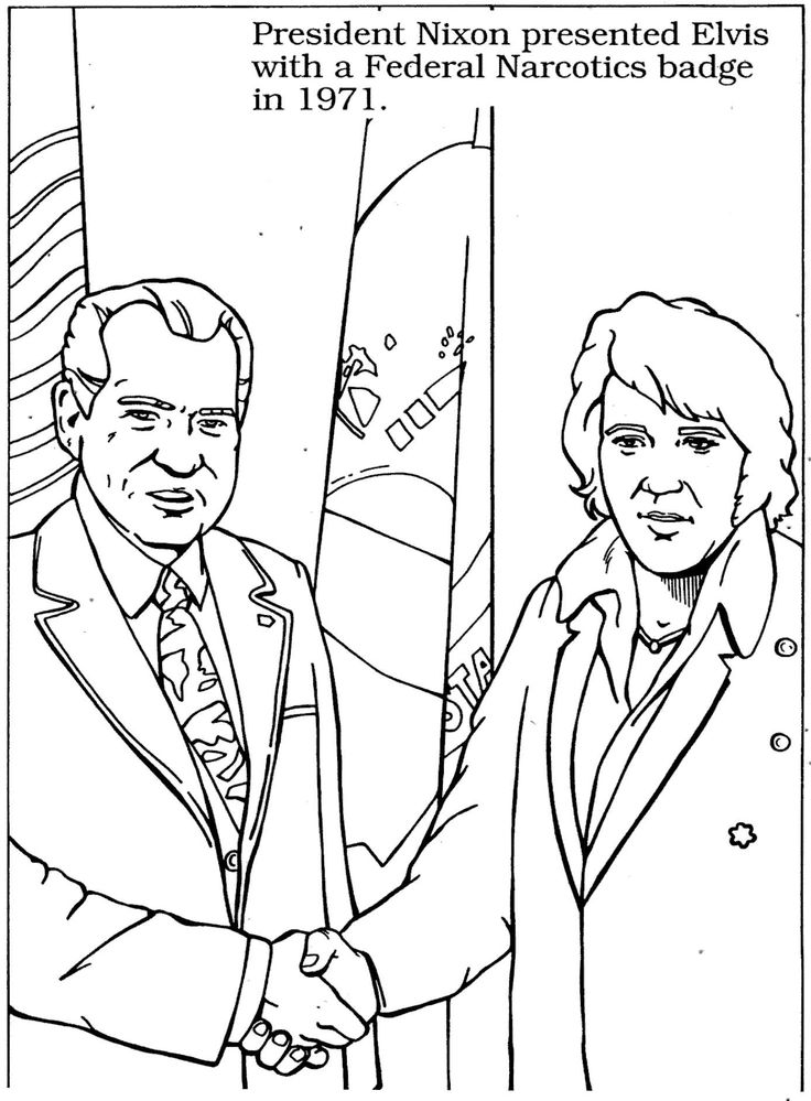 15 best images about elvis coloring pages on pinterest for Elvis coloring pages