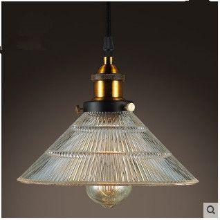 Кафе творческий стекла люстра бар лампы ретро магазин одежды ресторан бар с одной головкой люстра освещение