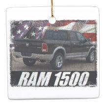 2014 Ram 1500 Quad Cab Laramie Ceramic Ornament