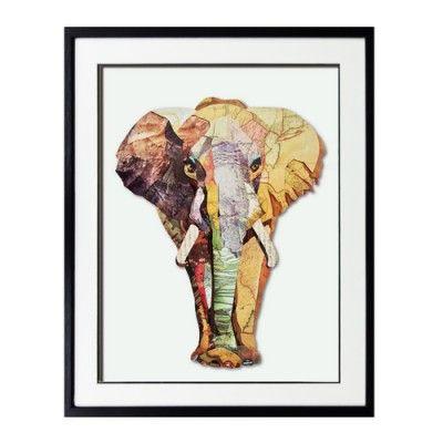 Obraz przestrzenny Elephant to idealny przykład stylu ETNO. Stwórz swoją własną aranżację!
