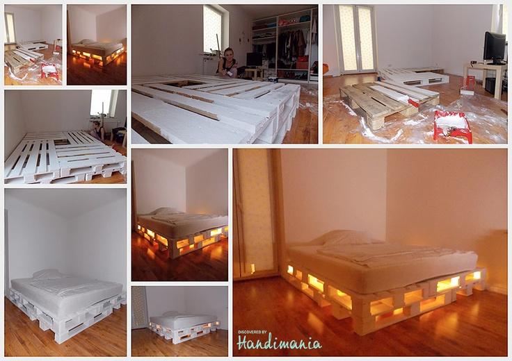 Pallet Bed by Marta Rojecka