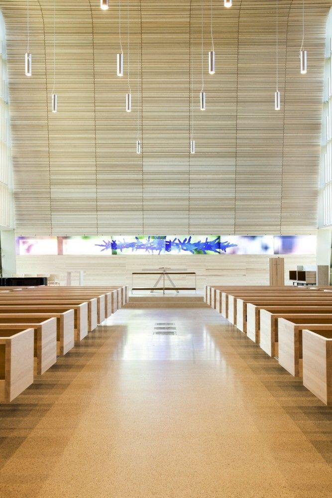 Bøler church / Hansen-Bjørndal Arkitekter AS