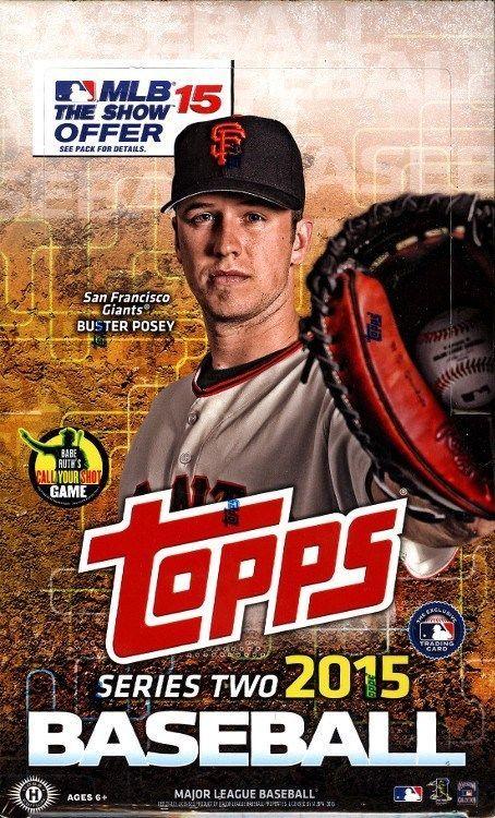 d637f68f4c7 2015 TOPPS SERIES 2 BASEBALL HOBBY 12 BOX CASE BLOWOUT CARDS  BaseballCards